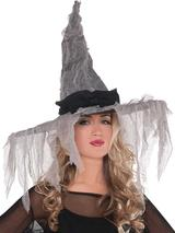 Ladies Tattered Witch Hat