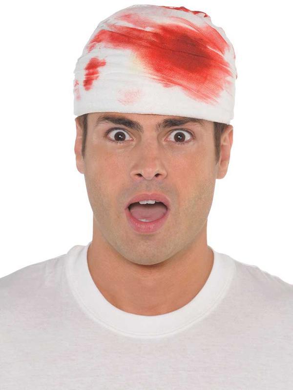Adult Bloody Head Wrap