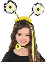 Child Bumble Bee Fairy Headbopper