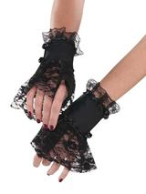 Ladies Goth Lace Cuffs