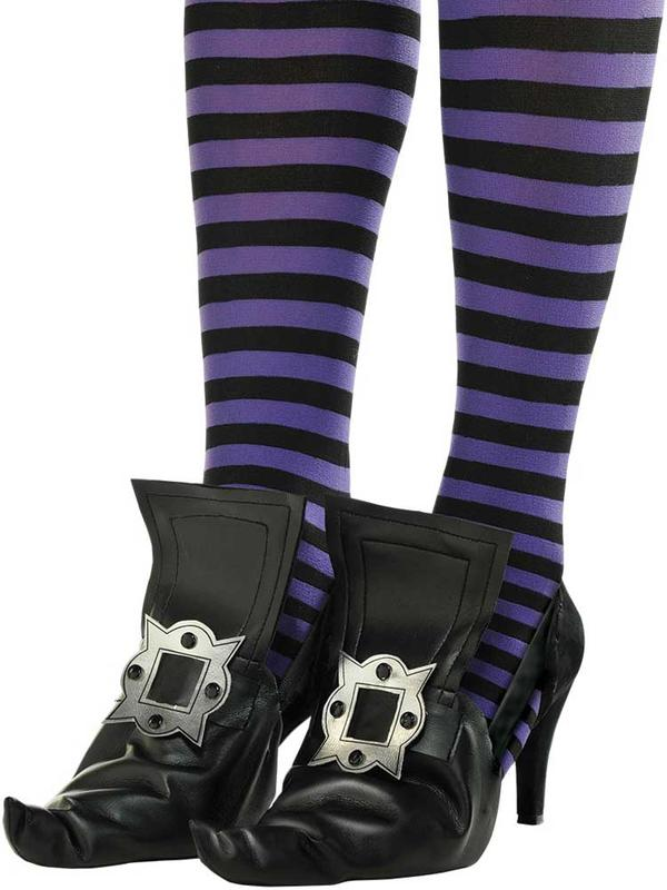 Girls Witch's Shoe Covers