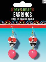 Adult D.O.T.D Sugar Skull Earrings