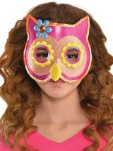 Sequin Owl Mask