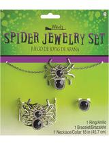 Adult Spider Jewellery Set
