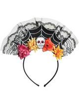 Adult Ladies D.O.T.D Spiderweb Headband