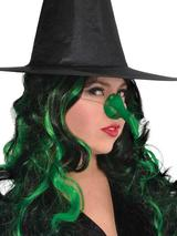 Witch's Green Rubber Nose
