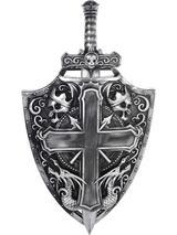 Adult Crusader Shield And Sword