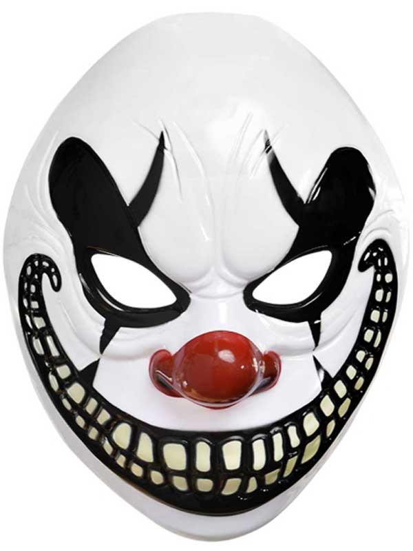 Adult Freak Show Clown Mask