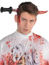 Adult Bleeding Knife Thru Head Headband