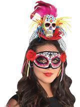 Adult Sugar Skull Couture Headband