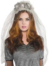 Adult Ghost Bride Couture Headband
