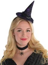Ladies Mini Witch Hat