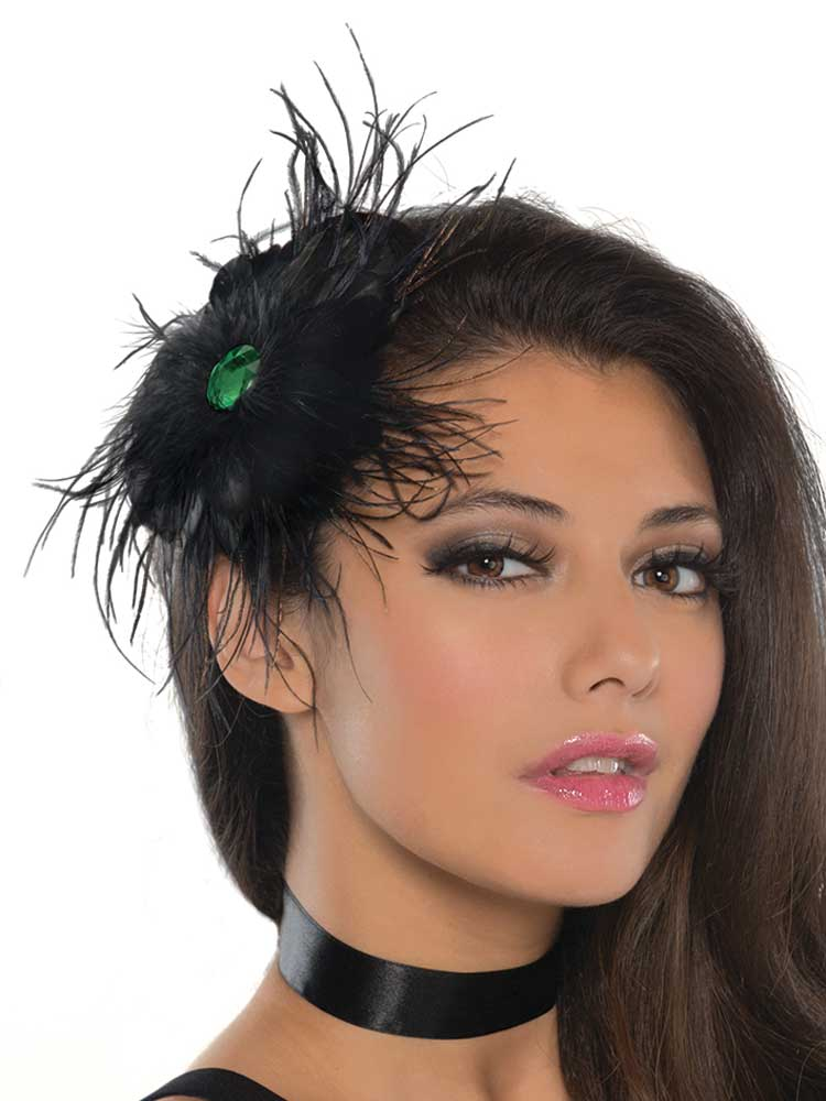 Ladies Raven Hair Clip (Black)