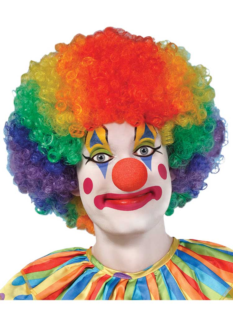 Adult Clown Afro Wig