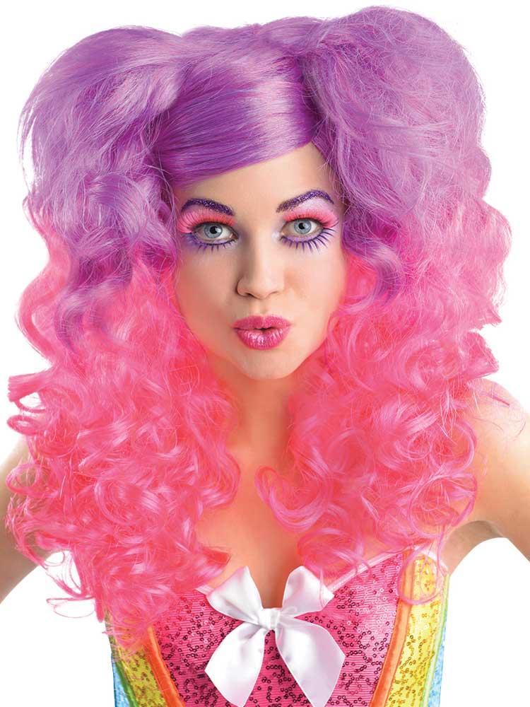 Adult Raging Pony Curls Wig