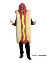 Hot Dog Deluxe Costume