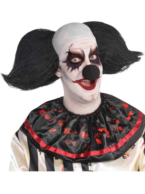 Adult Mens Wig Freak Show Clown