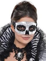 Black & Bone Venetian Skull Mask