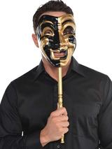 Adult Jester Stick Mask
