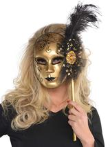 Adult Venetian Stick Mask
