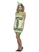 Adult's Green Crayola Dress (S/M)