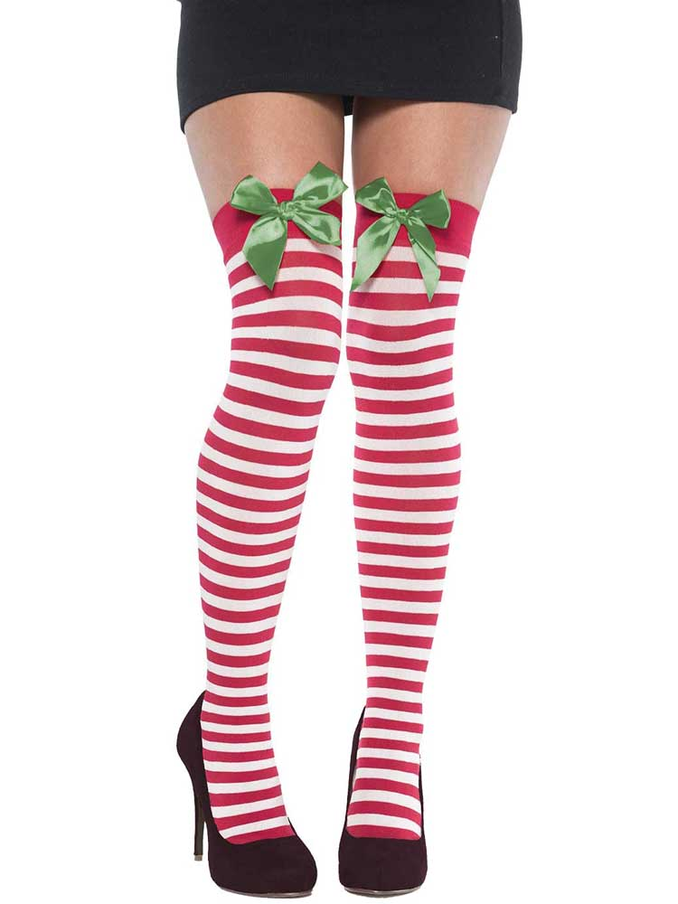 Adult Thigh High Holiday Stocking