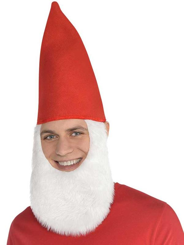 Adult Gnome Hat With Beard