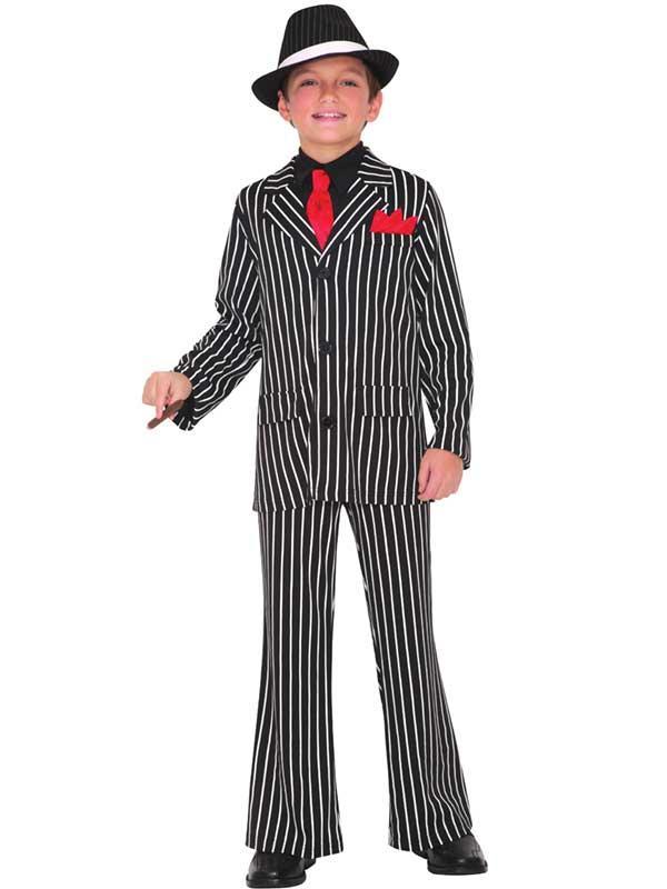 Child Gangster Guy Costume