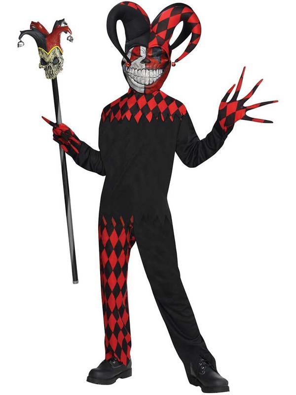Child Boys Krazed Jester Costume