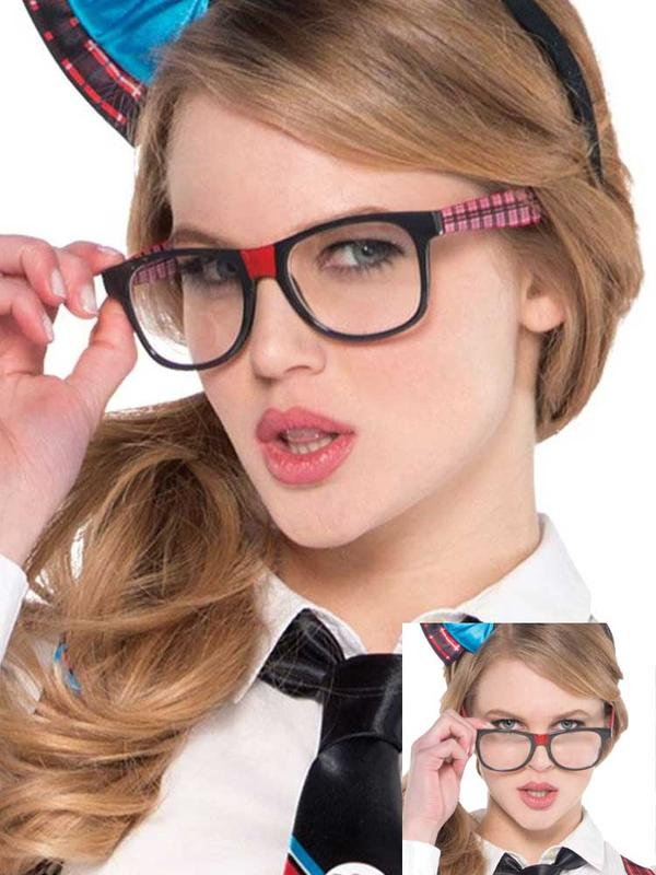 Adults Nerd Geek Chic Glasses Thumbnail 1
