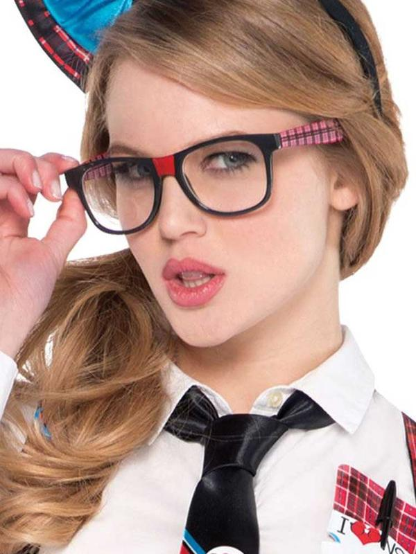 Adults Nerd Geek Chic Glasses Thumbnail 2