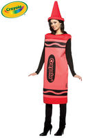 Adult's Red Crayola Costume (S/M)
