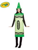 Crayola Crayon Green Costume