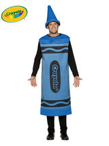 Adult's Blue Crayola Costume (L/XL)