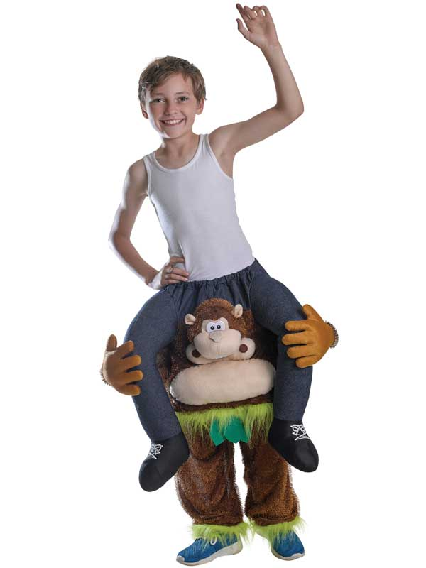 Child Piggy Back Monkey Costume