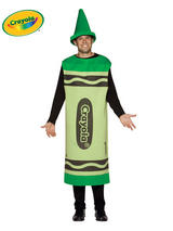 Adult's Green Crayola Costume (L/XL)