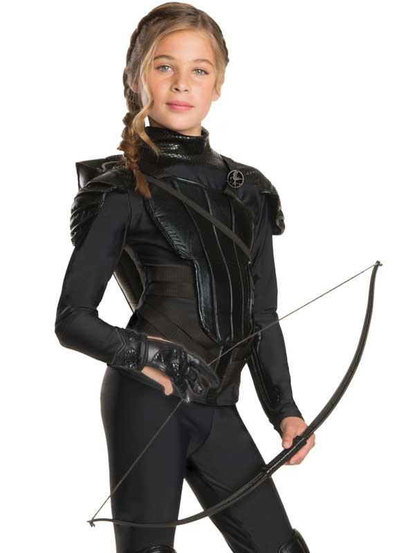 Girls Katniss Everdeen Rebel Archer Glove Fancy Dress