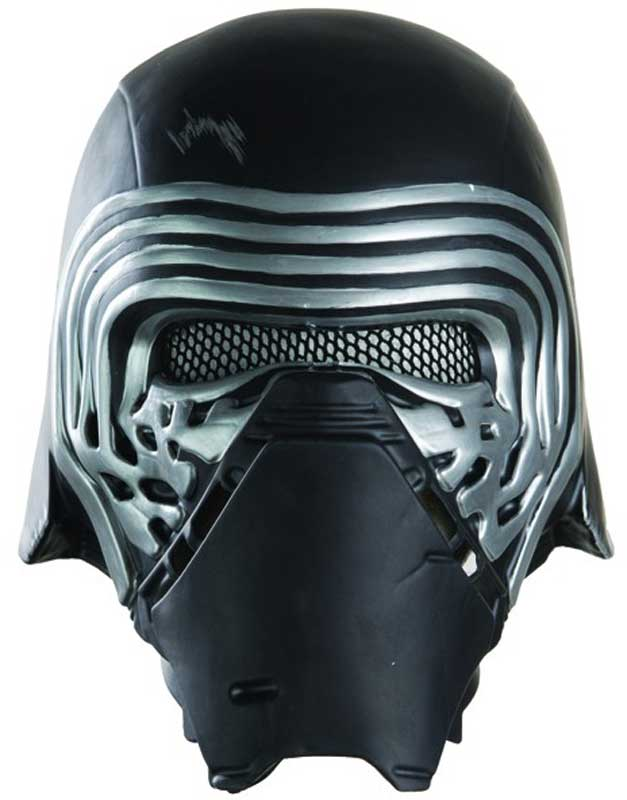 Adult Mens Kylo Ren 1/2 Mask