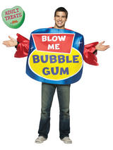 Adult's Blow Me Bubble Gum Costume