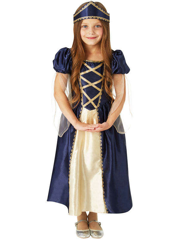Child Renaissance Princess Costume