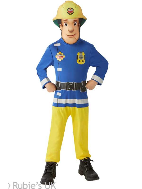 Child Classic Fireman Sam Costume