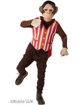Child Mr Monkey Costume