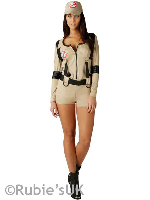 Female Ghostbuster Shorts Costume