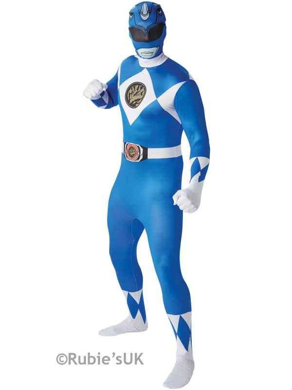 2nd Skin Blue Power Ranger Costume