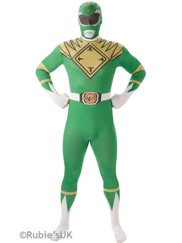 2nd Skin Green Power Ranger Costume