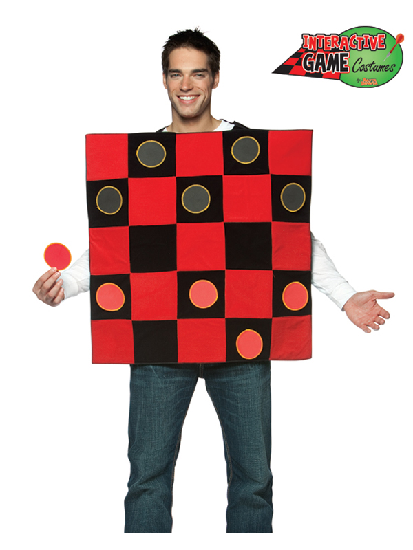 Draughts Checkers Costume