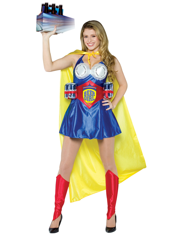 Adult's Beer Girl Costume