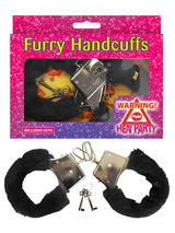 Handcuffs Fur Black