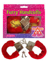 Handcuffs Fur Red