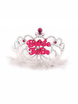 Tiara Bride To Be With Fur X